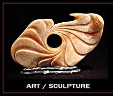 Austin home stagings-art-sculpture